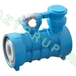Счетчик жидкости СЖ-ППВ-100-1,6-СУ класс точности 0,5 (винтовой)