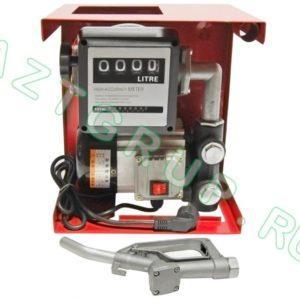 Мини АЗС для дизельного топлива ETP-70 (мобильная ТРК) 220 В
