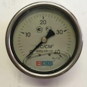 Манометр ДМ93-100. Ду-100(глицериновый)