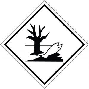 Наклейка (ромб). Вещество, опасное для окружающей среды.